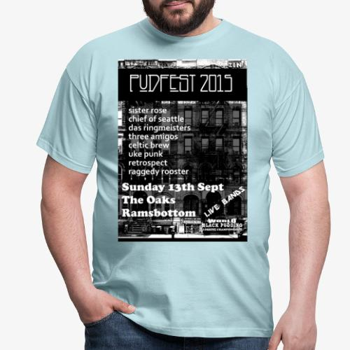PUDFEST png - Men's T-Shirt