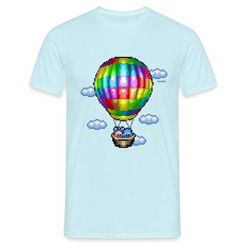 Heißluftballon - Männer T-Shirt