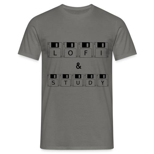 LoFi and Study - Men's T-Shirt