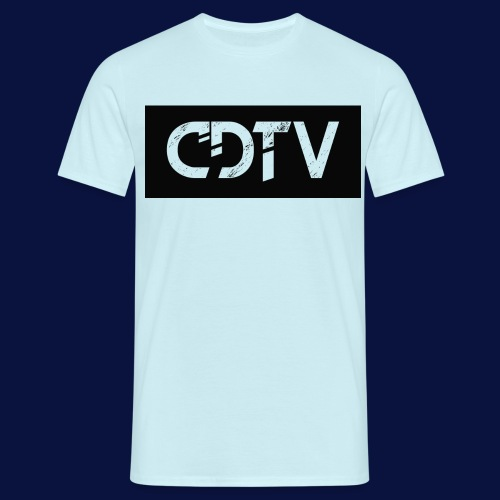CDTV Box Logo - Men's T-Shirt