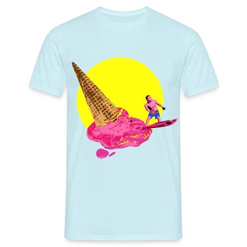 ice cream surfer - Camiseta hombre