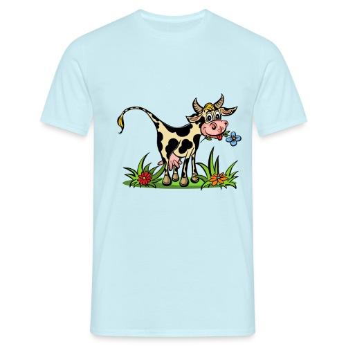 Kuh Hemme 2 copy - Männer T-Shirt