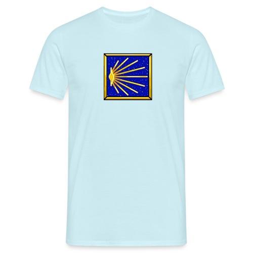 Bandiera Definitiva Cammino Di Santiago De Compost - Maglietta da uomo