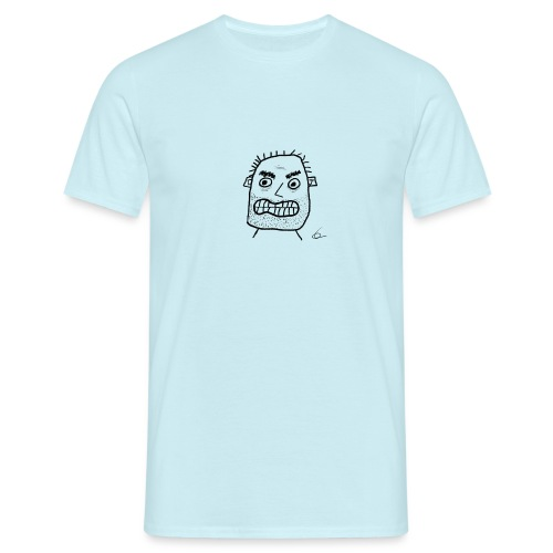 Vit T-shirt Gubben - T-shirt herr