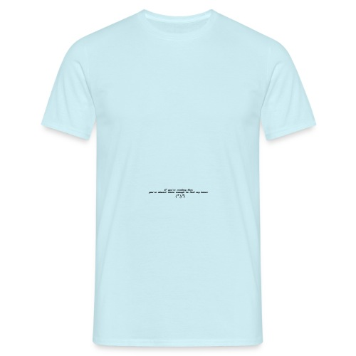 Reading png - Men's T-Shirt