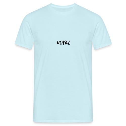 Royal noir - T-shirt Homme