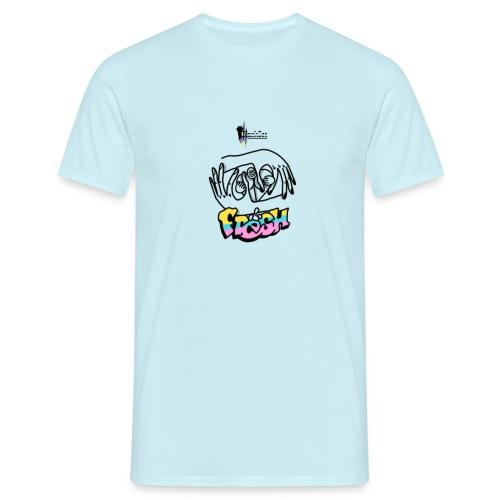 FreshBlackCat - Männer T-Shirt