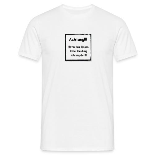 Achtung - Männer T-Shirt