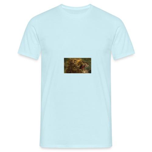 la chasse aux lions - T-shirt Homme