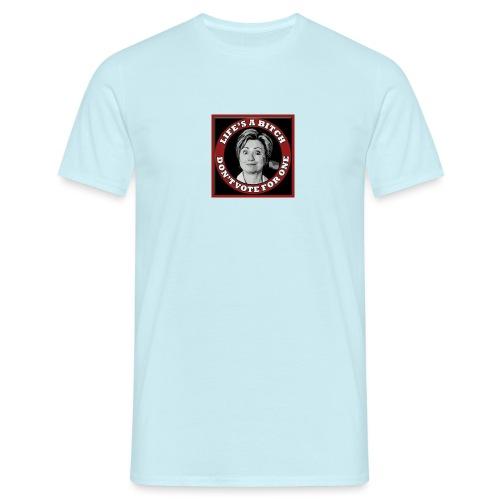Don't Vote Hilary - Men's T-Shirt