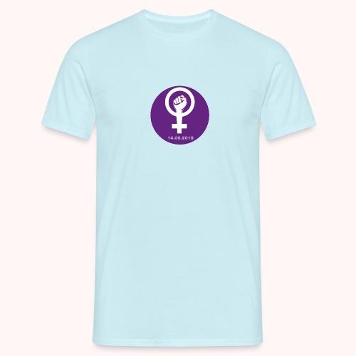 Logo Strike femminile - Logo de la Grève feministe - Maglietta da uomo