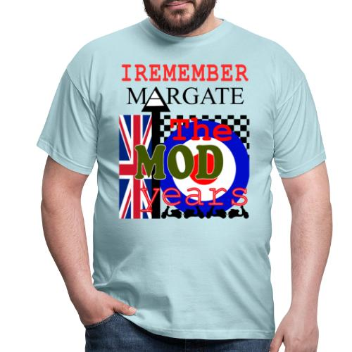 REMEMBER MARGATE - THE MOD YEARS 1960's - Men's T-Shirt