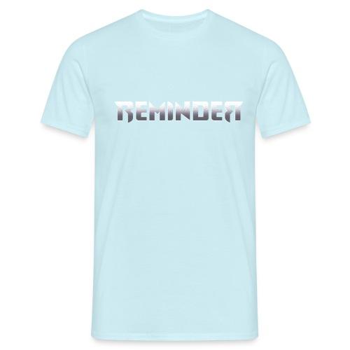 logo Reminder letters - Mannen T-shirt