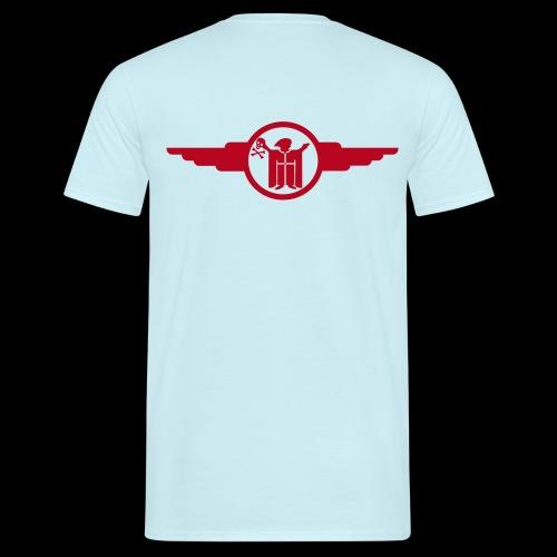resi und der totenkopf - Männer T-Shirt