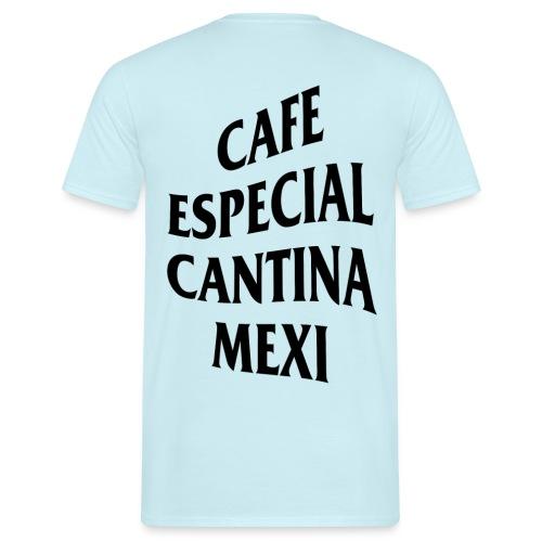 Mex Wave Logo Schwarz - Männer T-Shirt