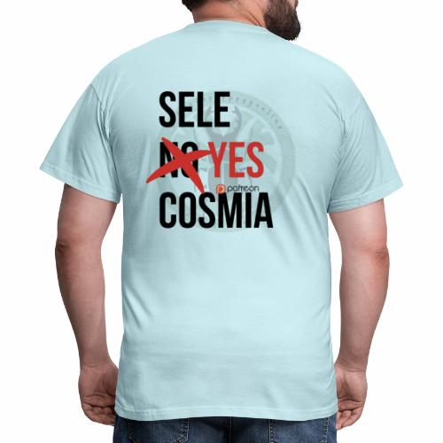 sele no yes cosmia - Men's T-Shirt