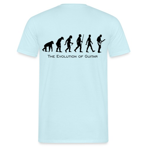 The Evolution Of Guitar - Camiseta hombre