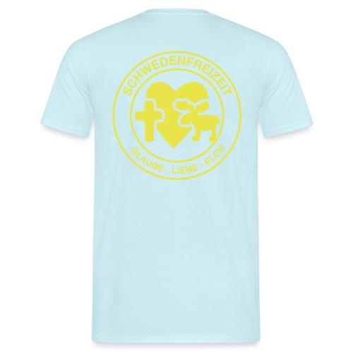 Schwedenfreizeit Logo - Männer T-Shirt