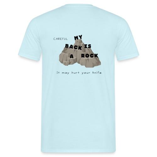 Back rock - Männer T-Shirt