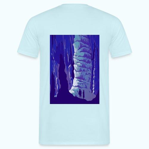 Fancy Grotto Vintage Travel Poster - Men's T-Shirt