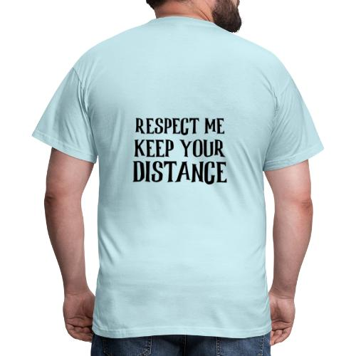 Keep Distance - Herre-T-shirt