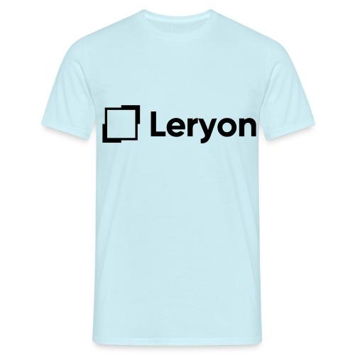 Leryon Text Brand - Men's T-Shirt