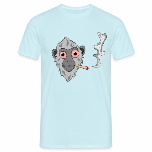 Smoking monkey - T-shirt Homme