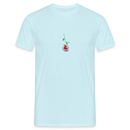 Falling Rose - T-shirt Homme