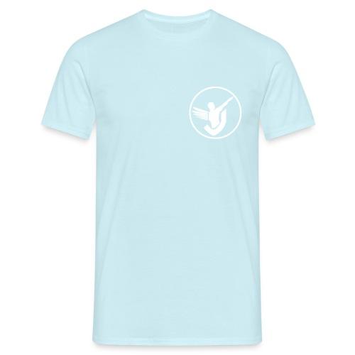 Everywhere Fitness (white logo) - Männer T-Shirt