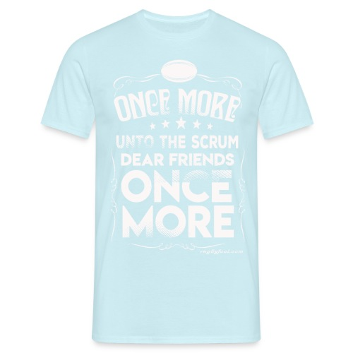 Once More White On Transparent - Men's T-Shirt