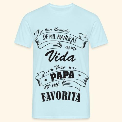 papá - Camiseta hombre