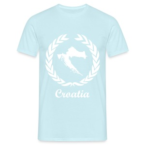 Connect ExYu Croatia White Edition - Männer T-Shirt