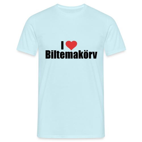 I Love Biltemakörv - T-shirt herr
