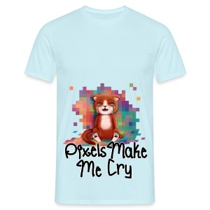 Pixel's Make Me Cry - Men's T-Shirt