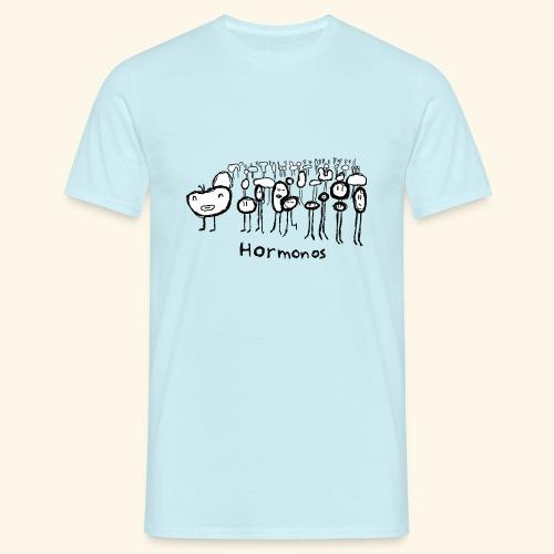 Hormonos - Camiseta hombre