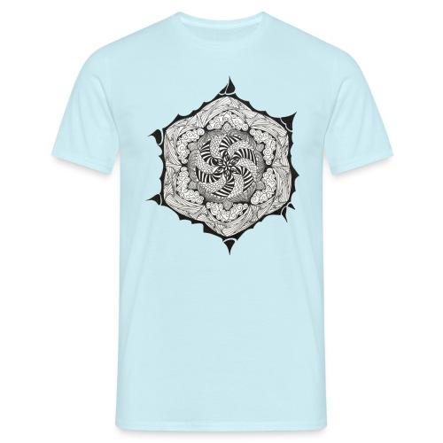 Doodle Stern - Männer T-Shirt