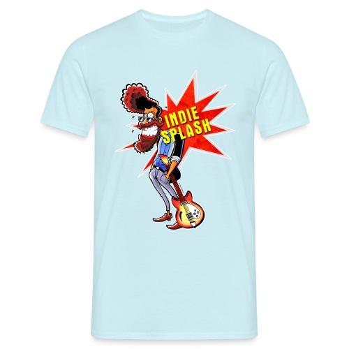 Indie Splash - Männer T-Shirt