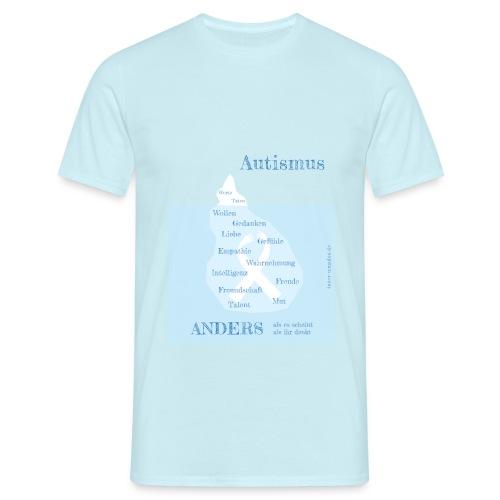 Autismus - anders als man denkt - Männer T-Shirt