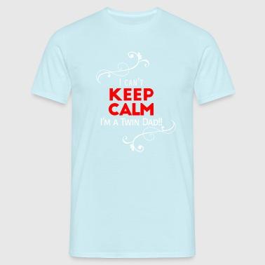 Ich kann nicht ruhig (für Vater nur!) Halten - Männer T-Shirt