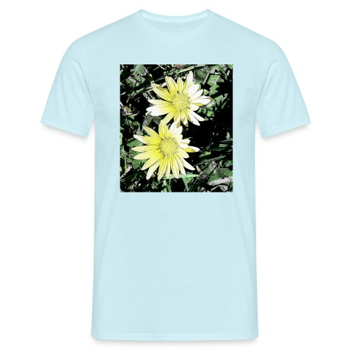 Flores silvestres - Camiseta hombre