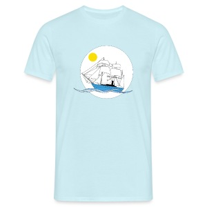 veliero mattino - Men's T-Shirt