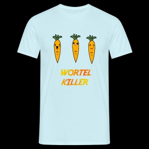 Wortel Killer [Teenager Premium T-Shirt] - Mannen T-shirt