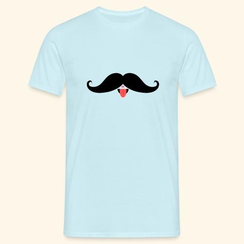 Fresh Moustache - Männer T-Shirt