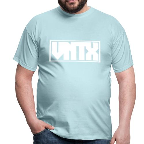 VNTX Logo Weiß - Männer T-Shirt
