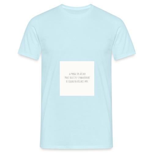 Gateaux - T-shirt Homme