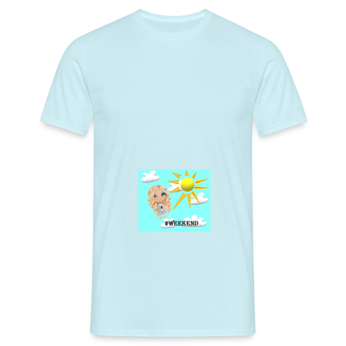 BlueSkyMomioWeekend - Mannen T-shirt