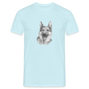 Schæfer German shepherd - Herre-T-shirt