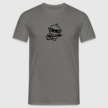 heavy metal band hårdrock electro gitarrspel ledar - T-shirt herr