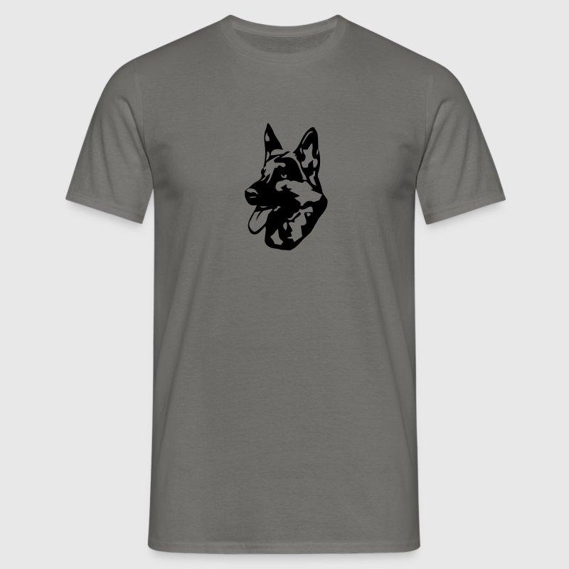 Koira Saksanpaimenkoira - Miesten t-paita