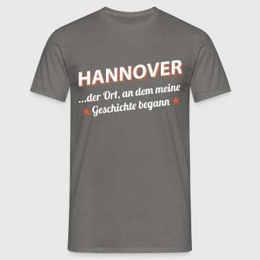Hannover - Männer T-Shirt